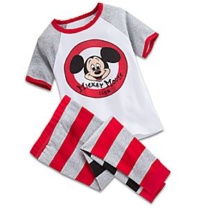 Mickey Mouse Club Pajama Set for Girls
