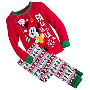 Minnie Mouse Fun Family Pajama Set for Girls