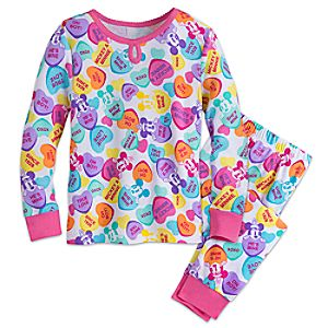 Mickey and Minnie Mouse PJ PALS for Girls 4902046862040M