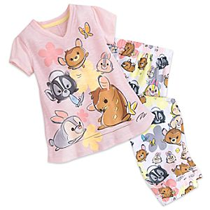 Bambi and Friends ''Tsum Tsum'' Sleep Set for Tweens