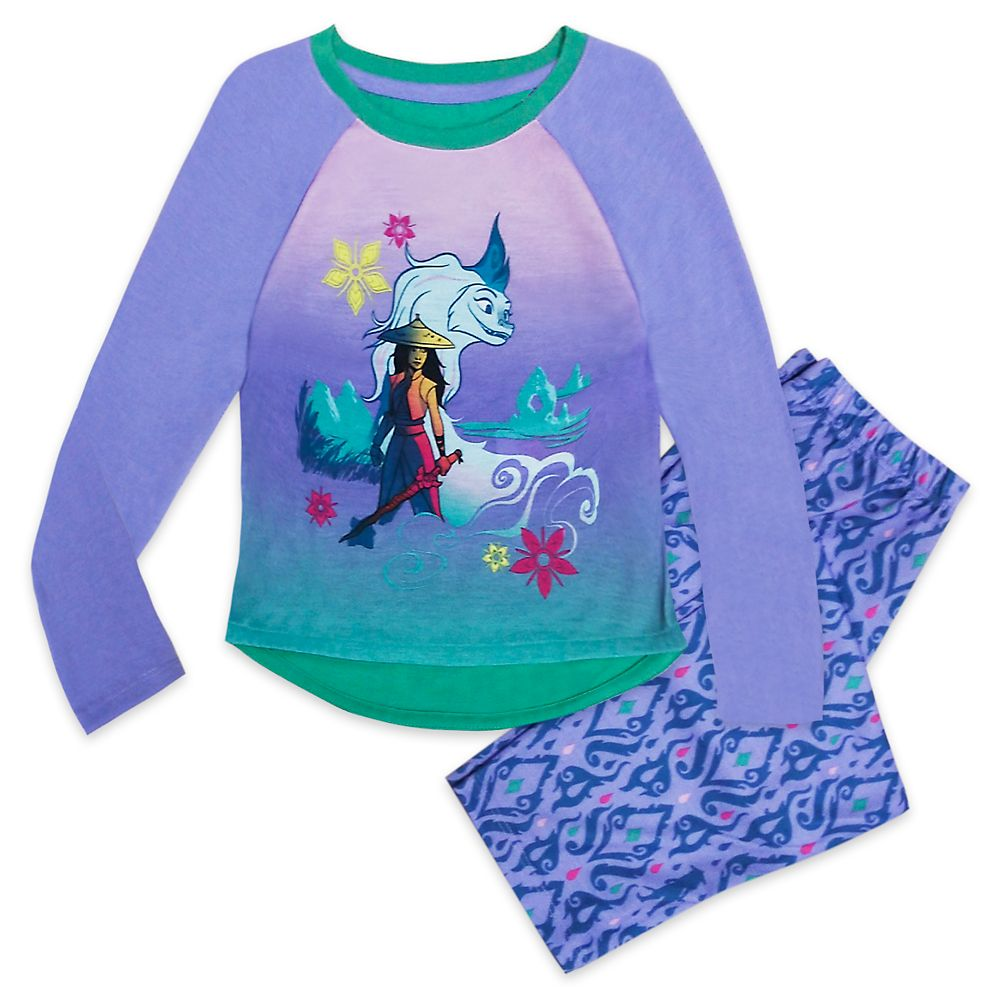 Disney Raya and the Last Dragon Sleep Set for Girls