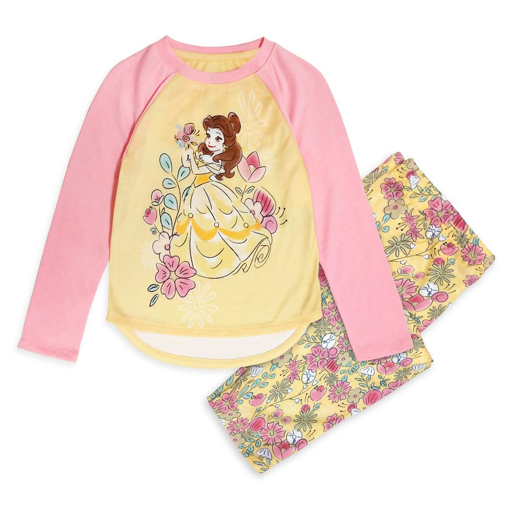 Belle Pajama Set for Girls – Beauty and the Beast