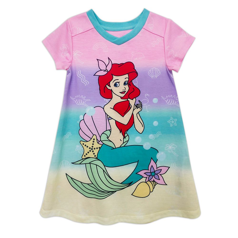 Ariel Nightshirt for Girls – The Little Mermaid