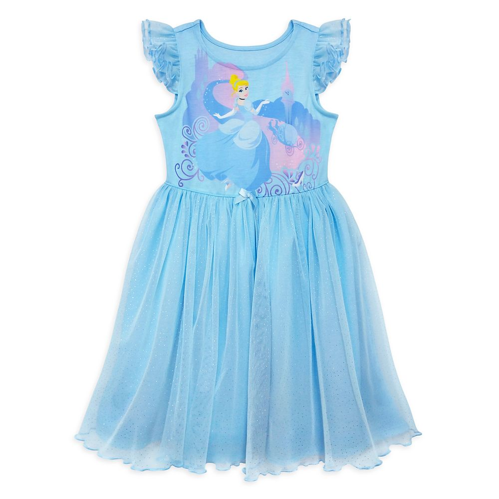 Cinderella Deluxe Nightshirt for Girls