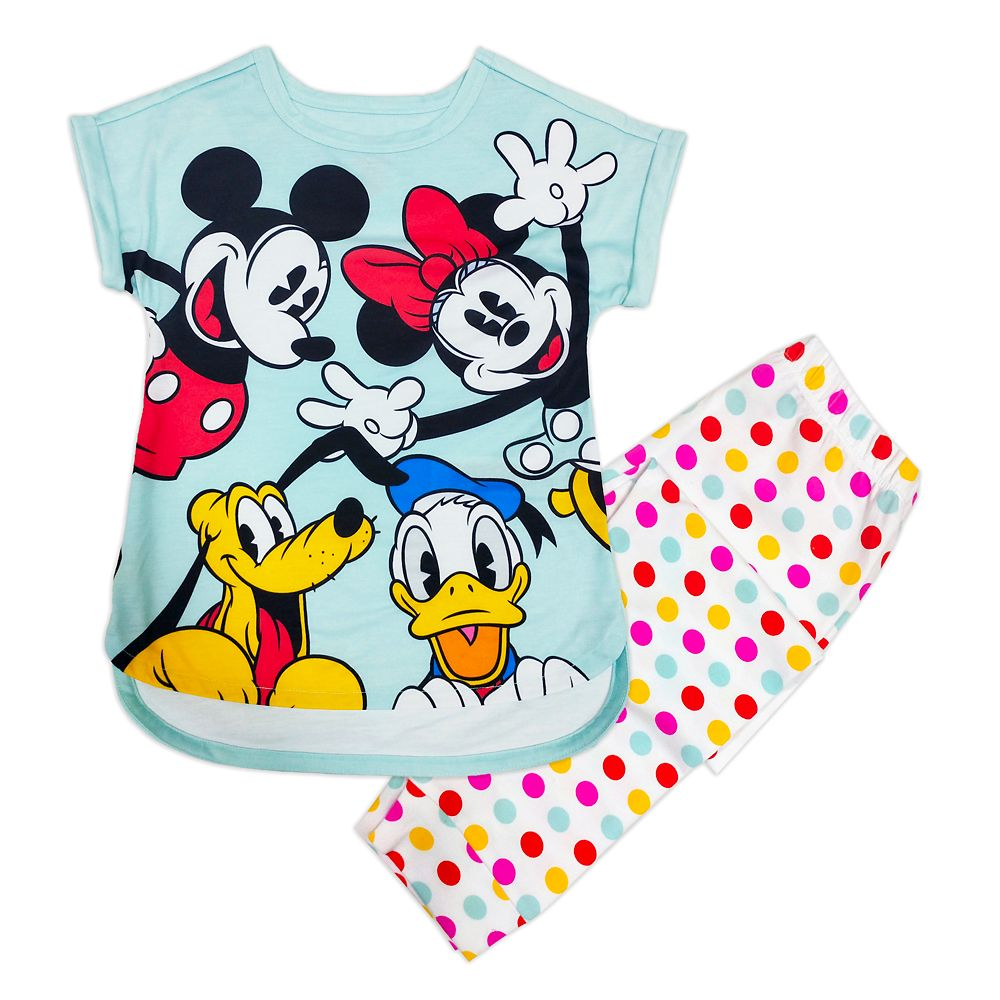 Mickey Mouse and Friends Sleep Set for Girls