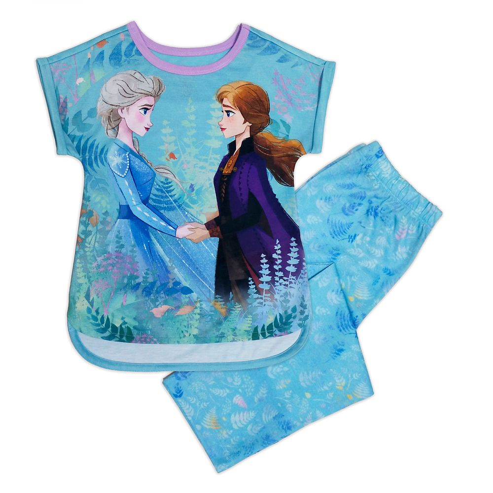 Anna and Elsa Sleep Set for Girls - Frozen 2