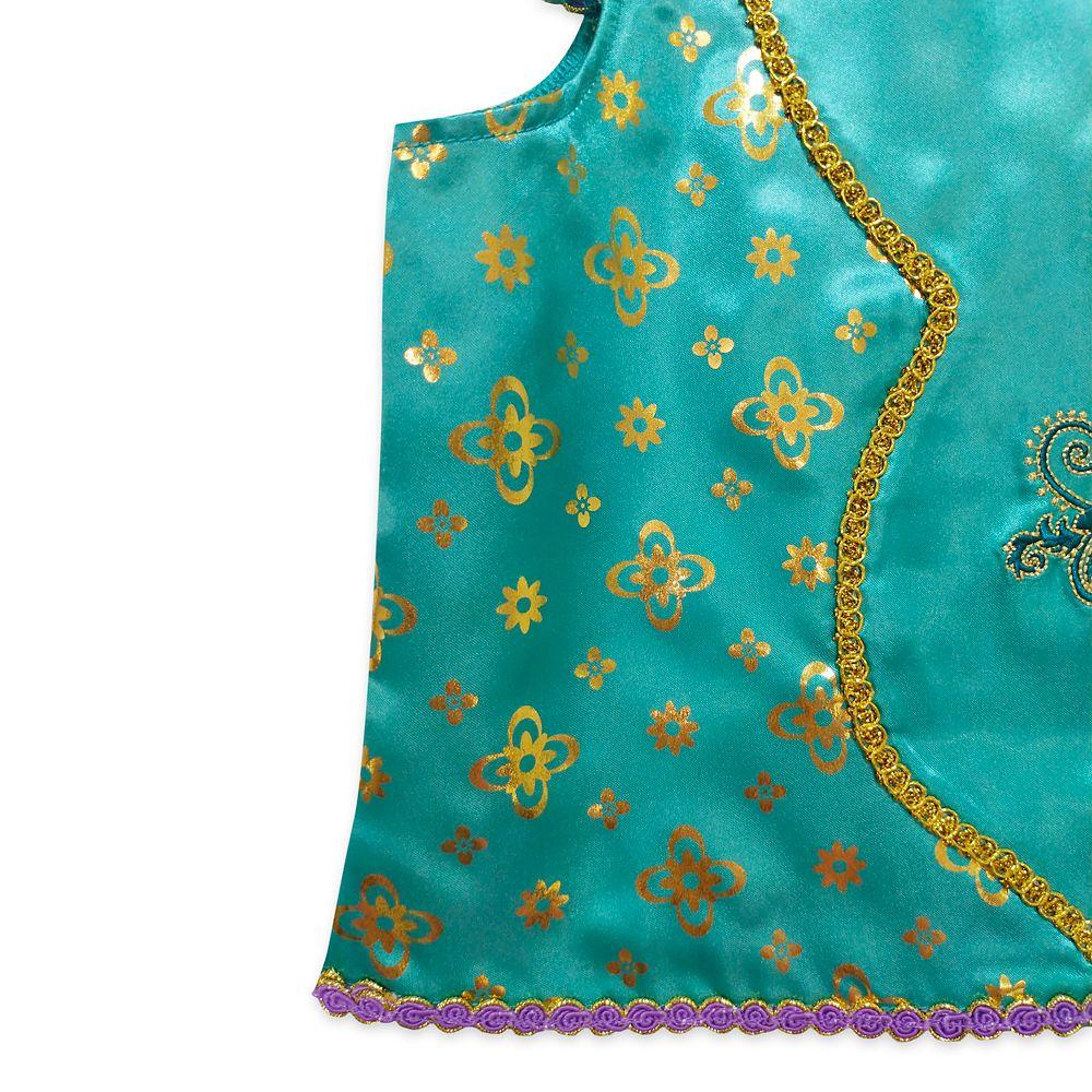 Jasmine Deluxe Costume Pajama Set for Girls – Aladdin