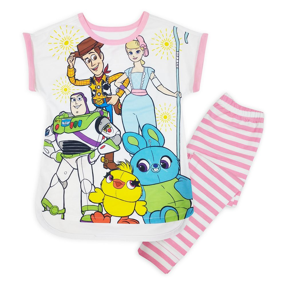 Toy Story 4 Sleep Set for Girls