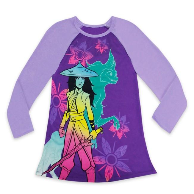 Raya and the Last Dragon Nightshirt for Girls