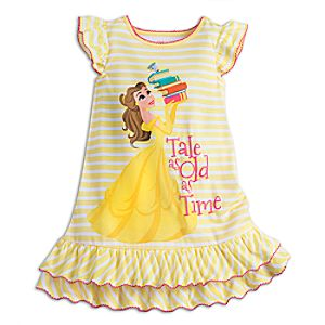 Belle Nightshirt for Girls 4902055251910M