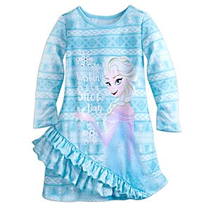 Elsa Nightshirt for Girls