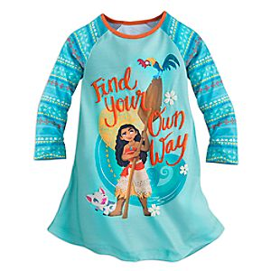 Moana Nightshirt for Girls
