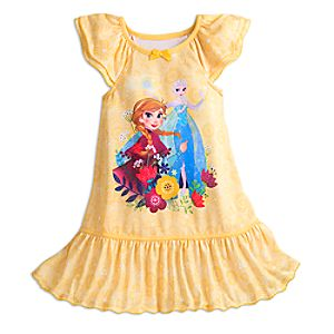 Frozen Nightshirt for Girls 4902055252063M