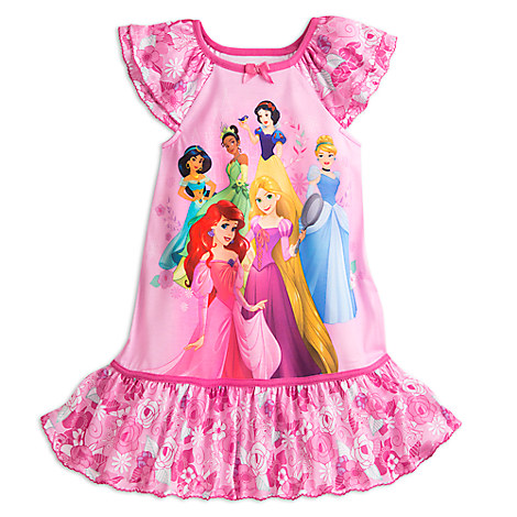 Disney princess nightshirt for girls disney store - Robe jasmine disney ...