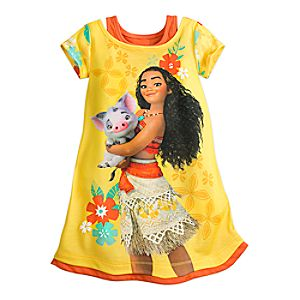 Moana Nightshirt for Girls 4902055252066M