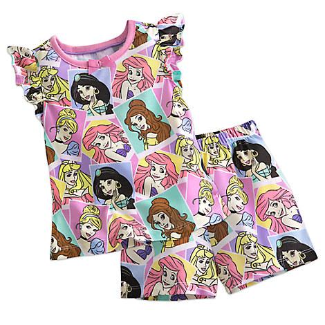 Disney Princess Short Sleep Set for Girls
