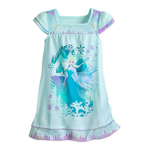 Elsa Nightshirt for Girls - Frozen