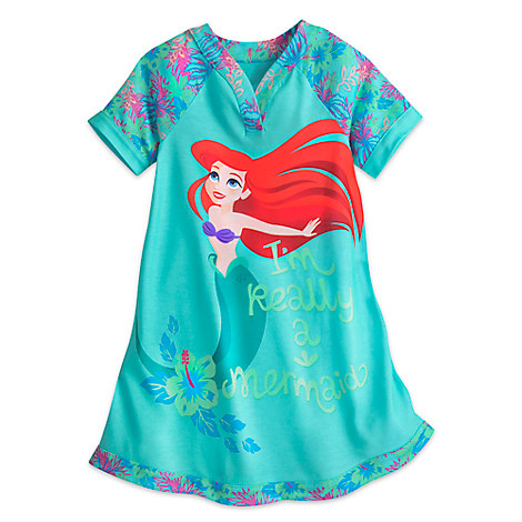 Ariel Nightshirt for Girls - The Little Mermaid