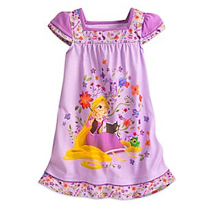 Rapunzel Nightshirt for Girls - Tangled: The Series