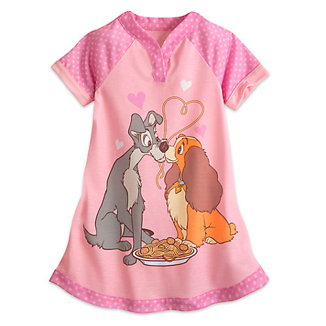 Lady and Tramp Nightshirt for Girls - Lady and the Tramp