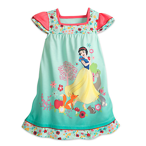 Snow White Nightshirt for Girls - Snow White and the Seven Dwarfs