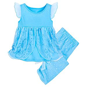 Image of Cinderella Deluxe Pajamas for Girls
