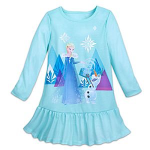 Image of Elsa Nightshirt for Girls - Frozen
