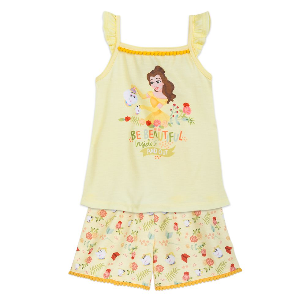 Belle Short Sleep Set for Girls