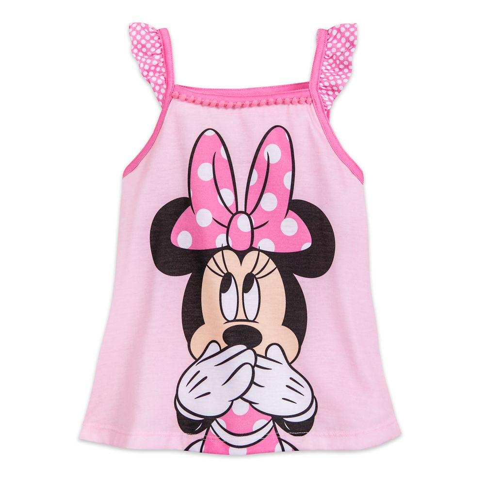 Minnie Mouse Pink Short Sleep Set for Girls