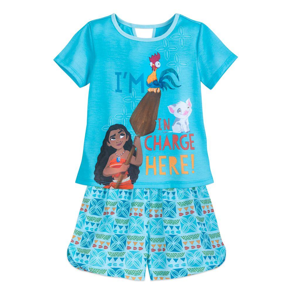 Moana Short Sleep Set for Girls Official shopDisney