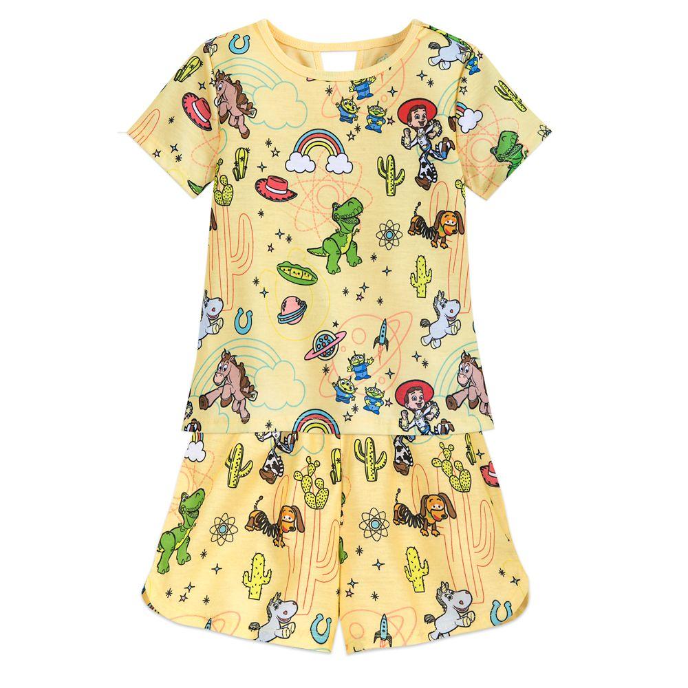 Toy Story Short Sleep Set for Girls