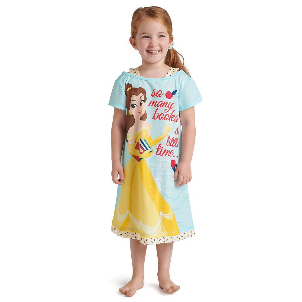 Belle ''So Many Books'' Nightshirt for Girls
