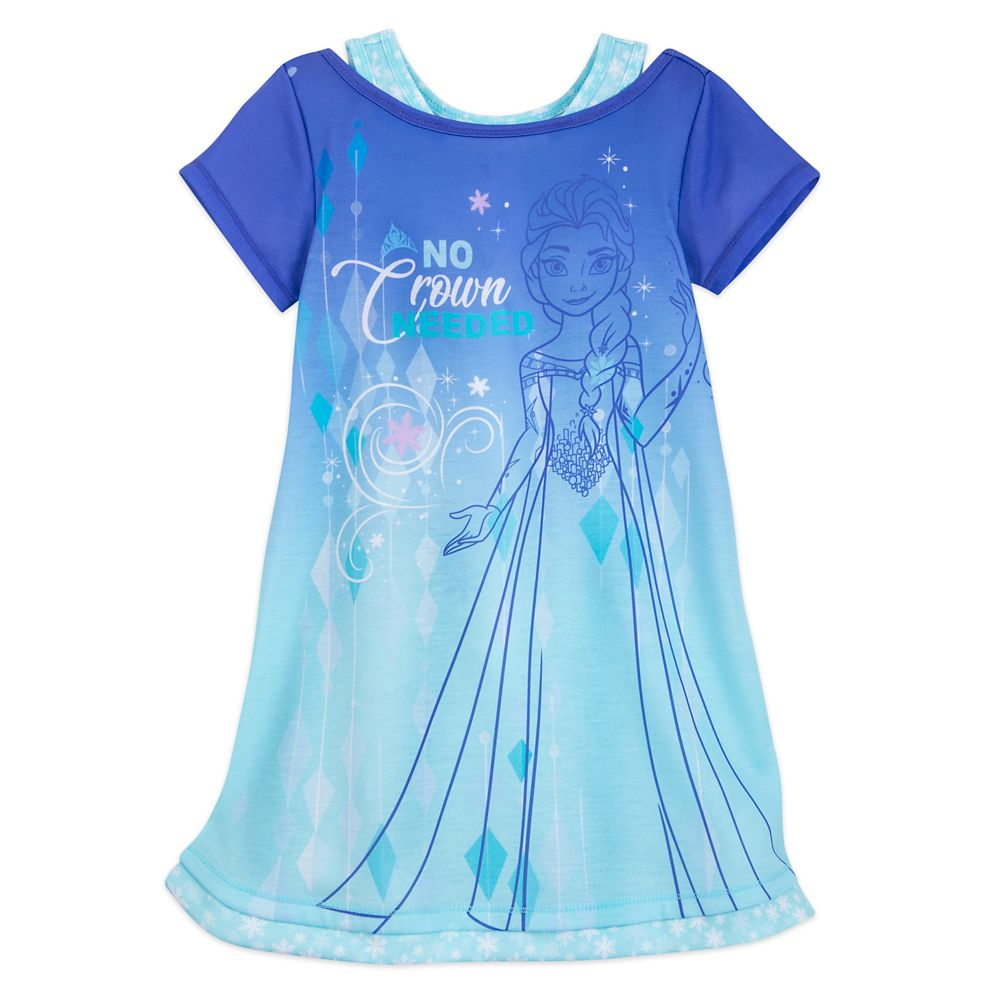 Elsa ''No Crown Needed'' Nightshirt for Girls