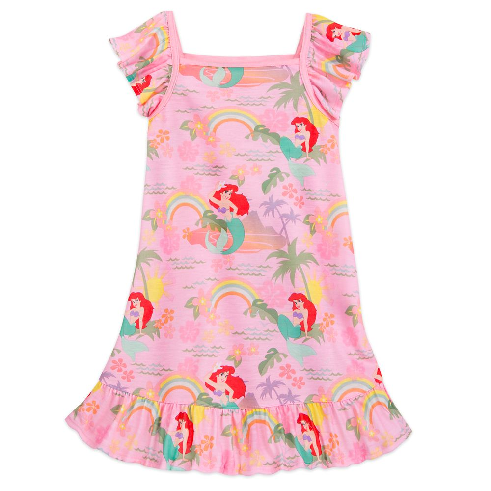 Ariel Rainbow Nightshirt for Girls