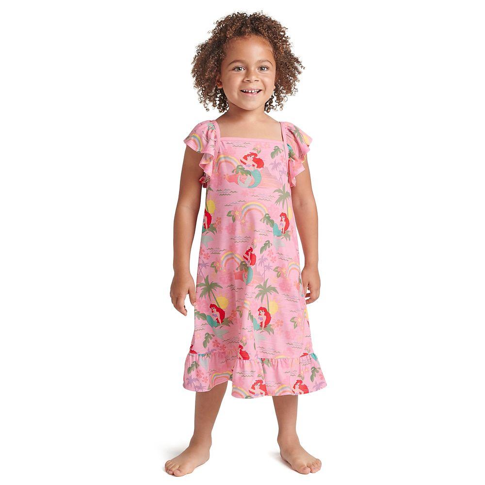Ariel Rainbow Nightshirt for Girls