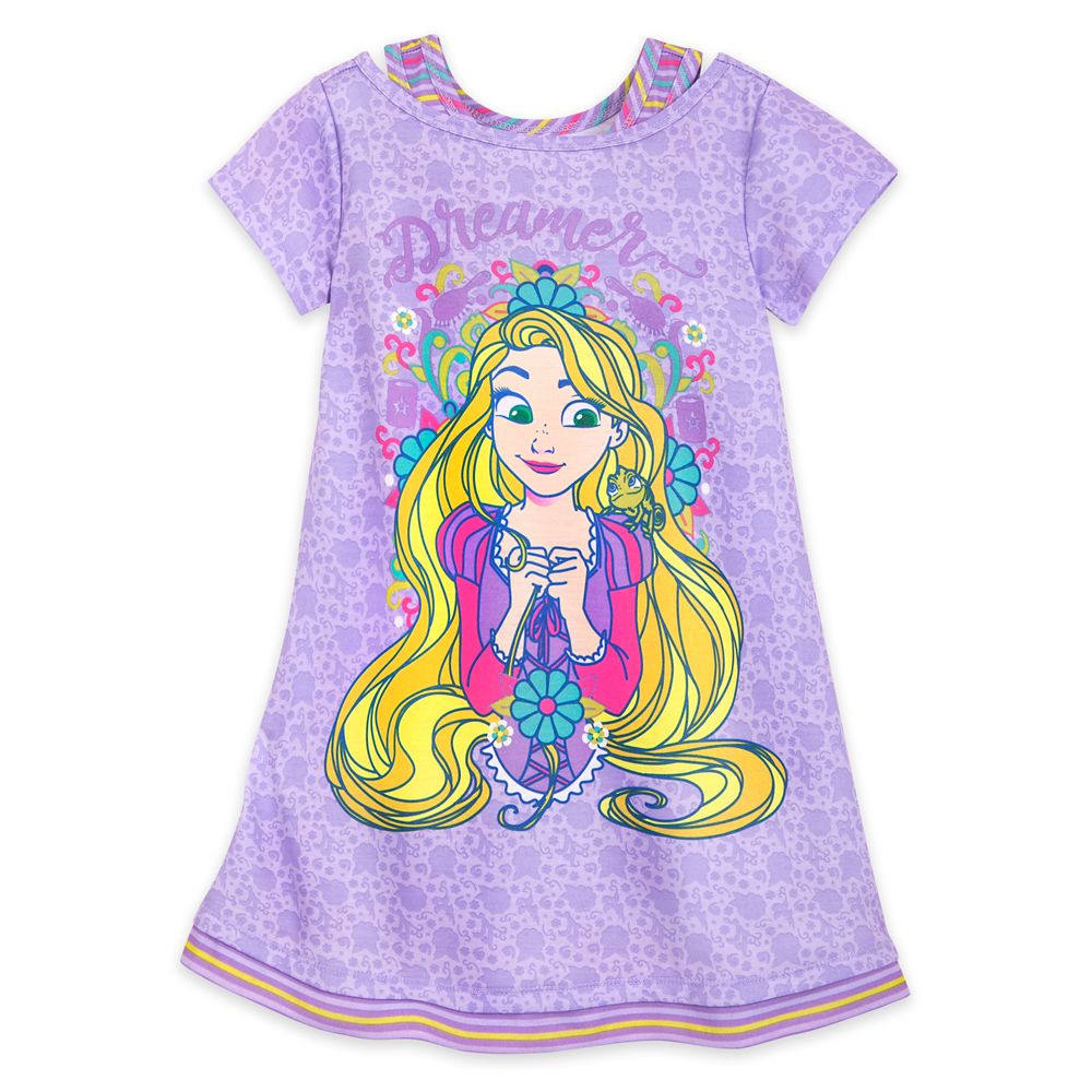Rapunzel and Pascal Nightshirt for Girls Official shopDisney