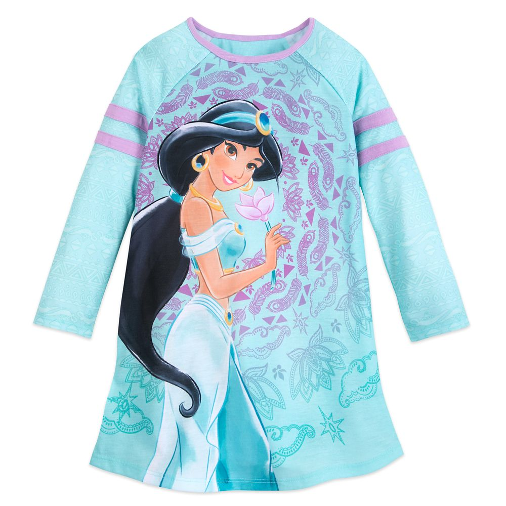 Jasmine Long Sleeve Nightshirt for Girls