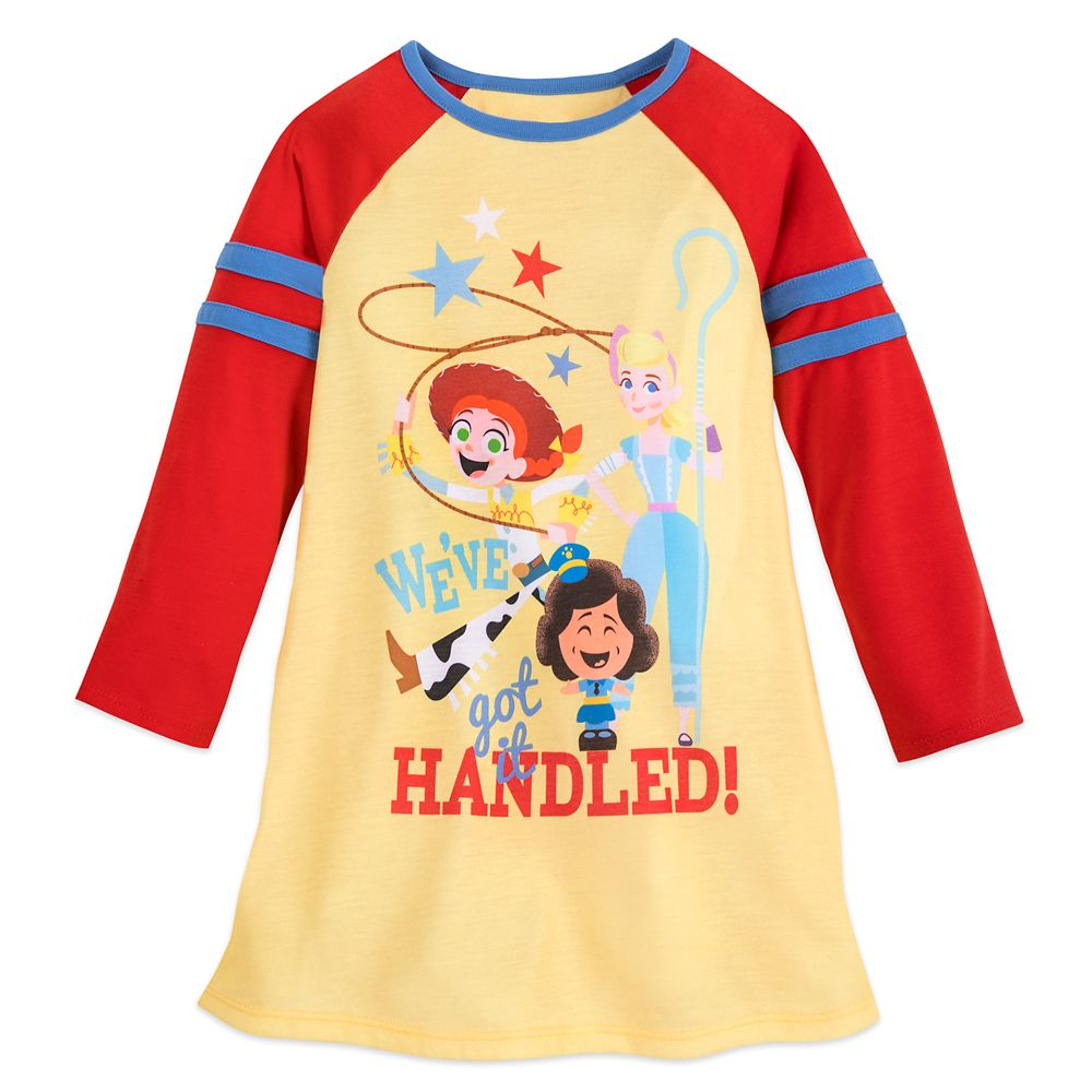 Toy Story 4 Long Sleeve Nightshirt for Girls