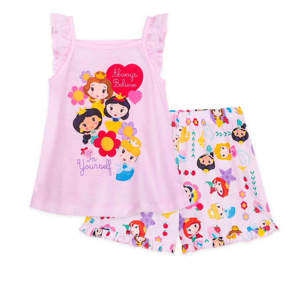 Disney Princess Short Sleep Set for Girls