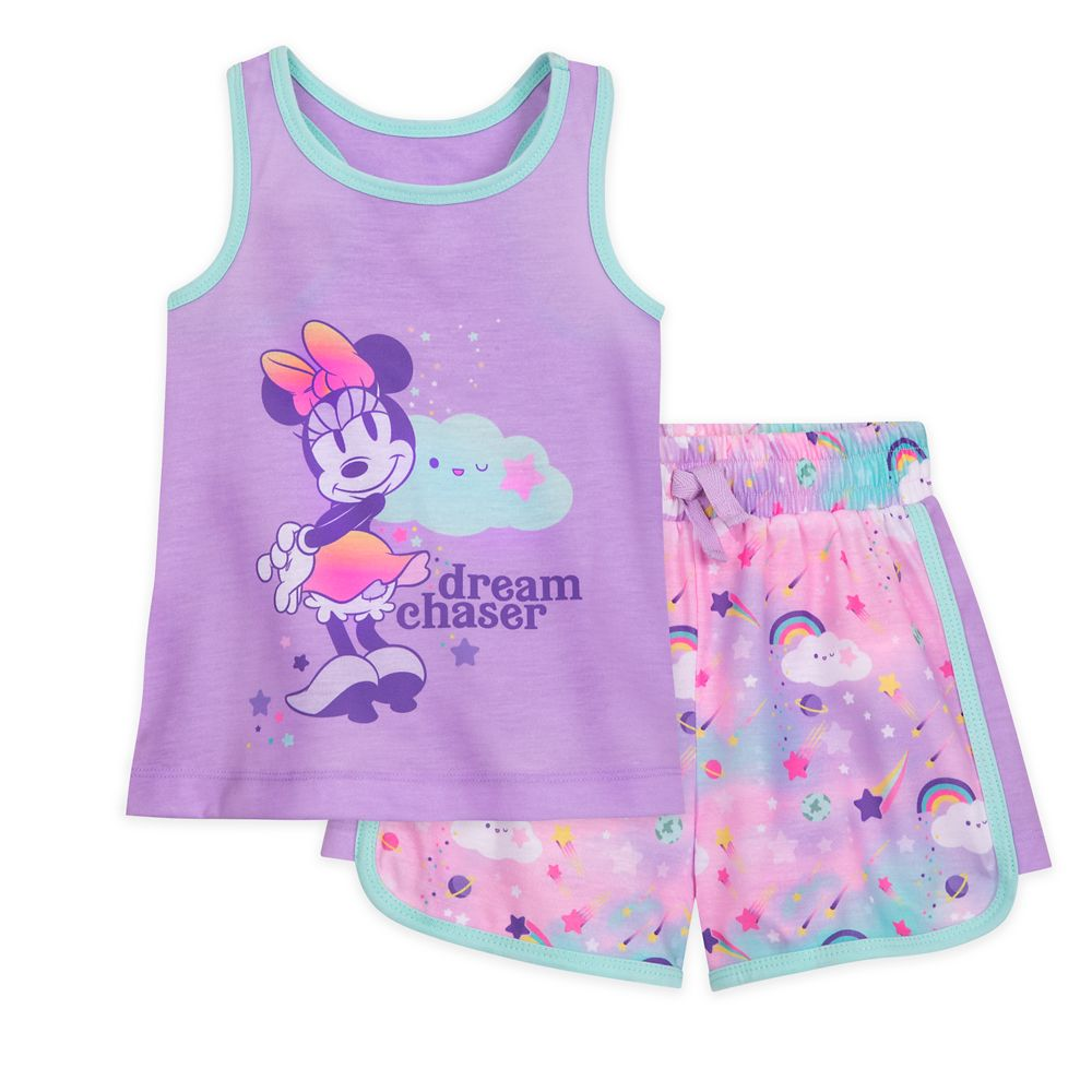 Minnie Mouse Short Sleep Set for Girls