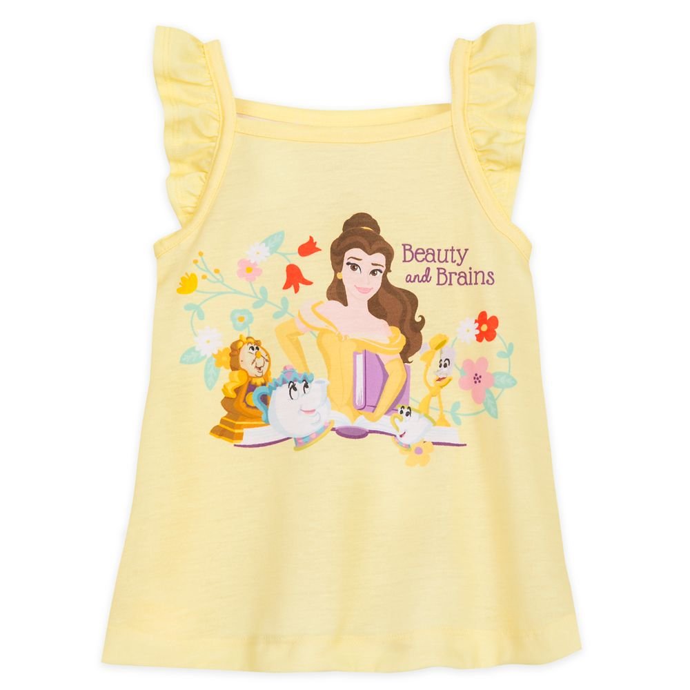 Beauty and the Beast Short Sleep Set for Girls