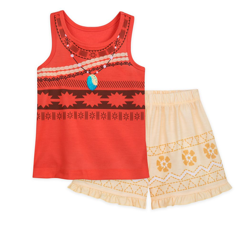 Moana Short Sleep Set for Girls