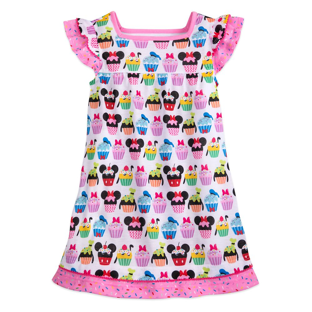 Disney Mickey Mouse and Friends Cupcake Nightshirt for Girls