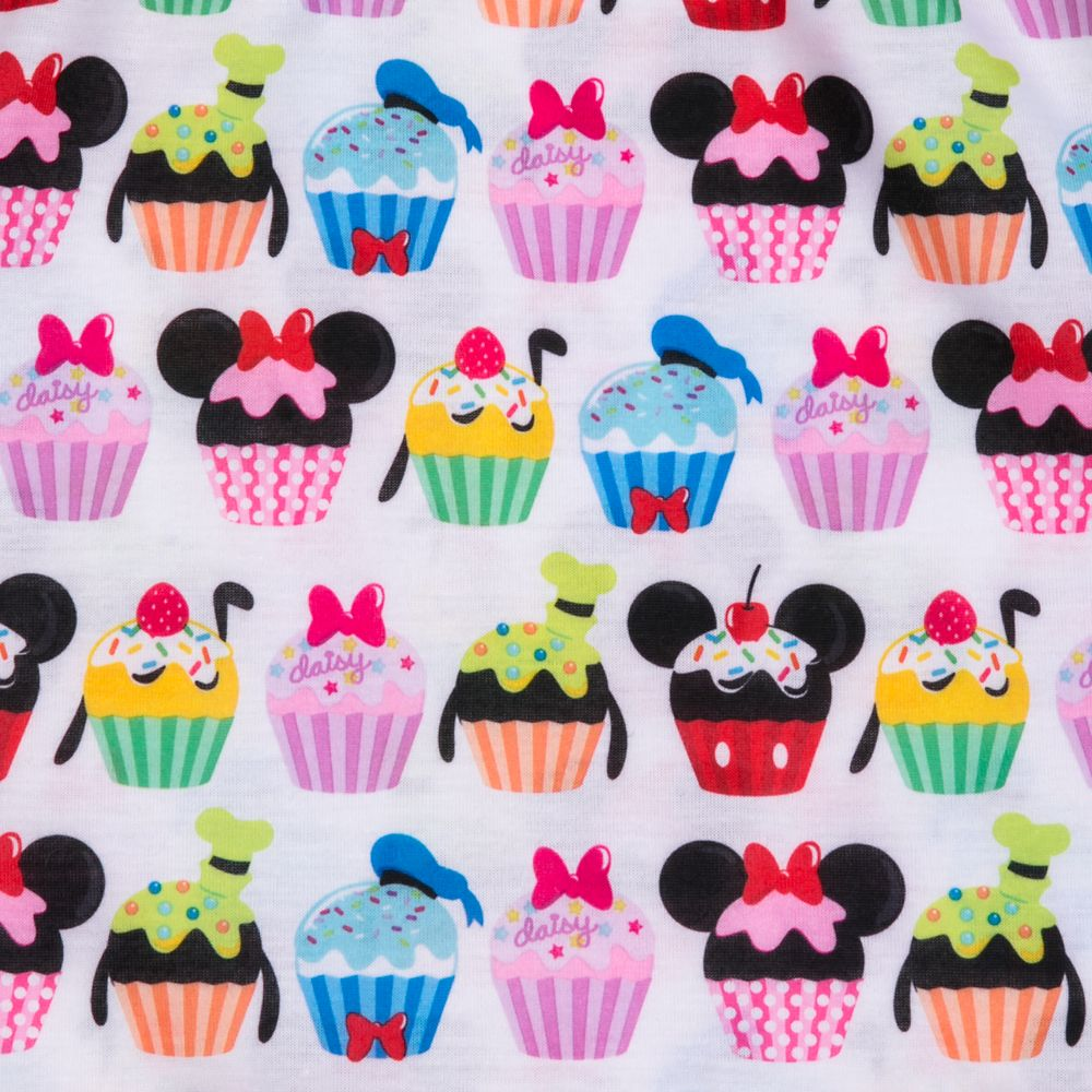Mickey Mouse and Friends Cupcake Nightshirt for Girls