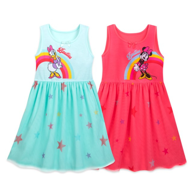 Minnie Mouse and Daisy Duck Nightshirt Set for Girls