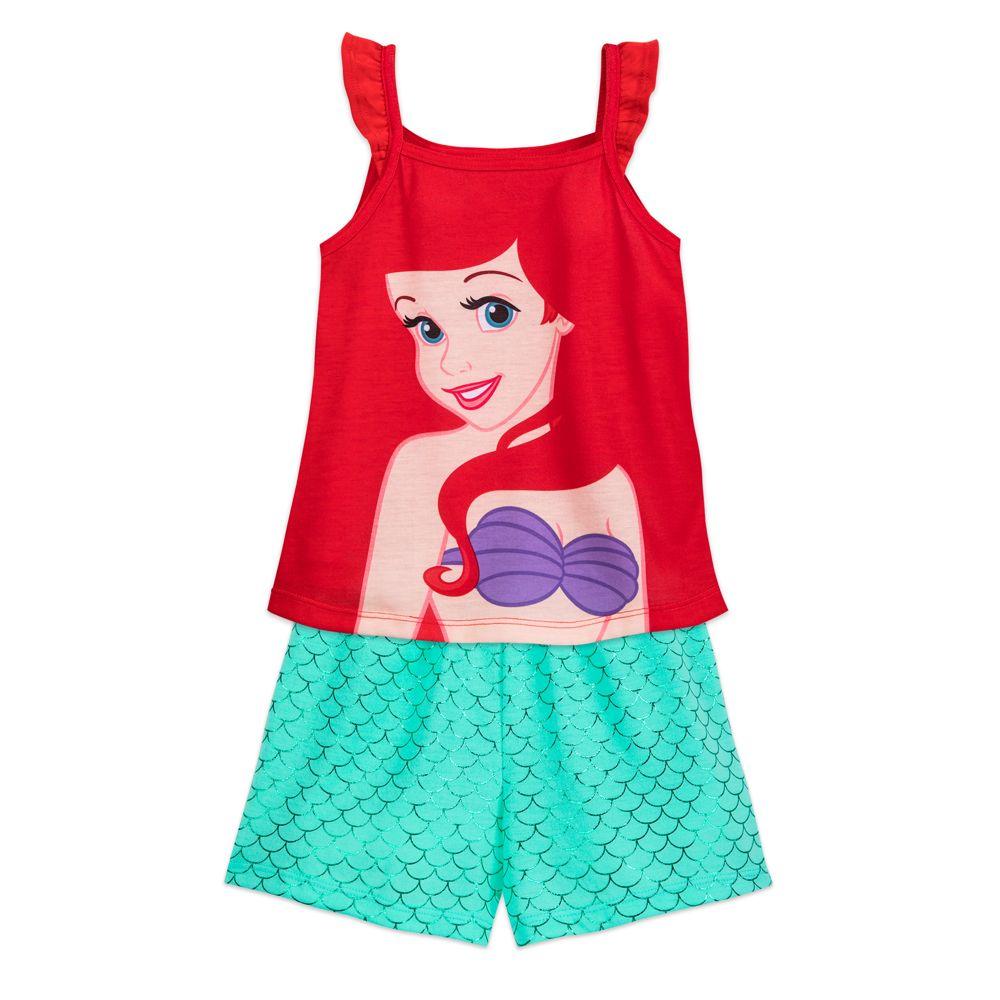 Ariel Short Sleep Set for Girls – The Little Mermaid