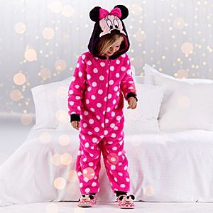 Minnie Mouse Hooded Sleepwear for Girls