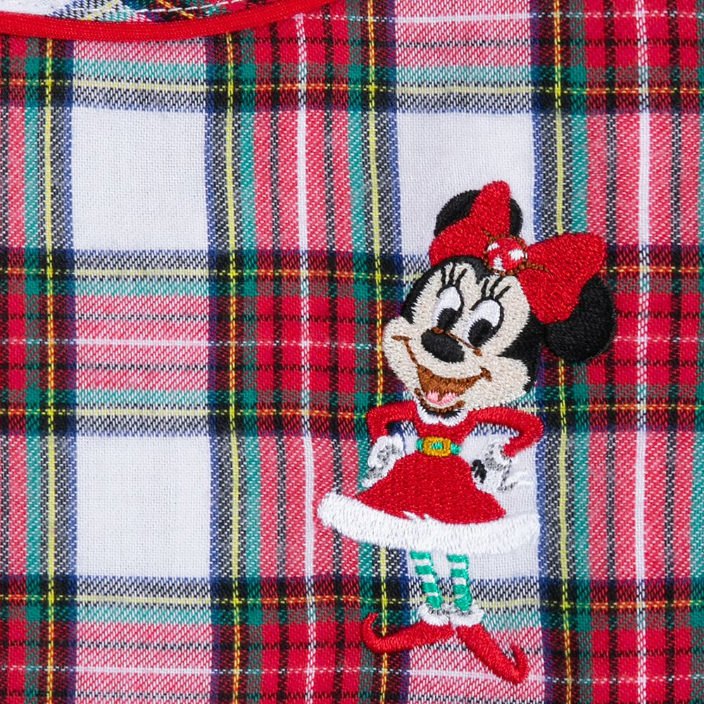 Minnie Mouse Holiday Plaid Nightshirt for Girls