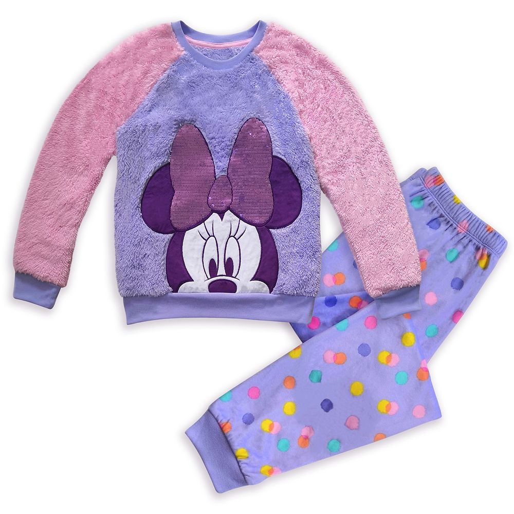 Minnie Mouse Fleece Pajama Set for Girls