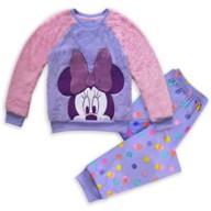 Minnie Mouse Fleece Pajama Set for Girls
